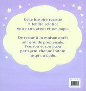 Bonne nuit mon ourson - 4ème de couverture - Format classique