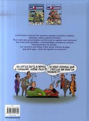 Les parisiens t.2 ; les vacances sont finies - 4ème de couverture - Format classique