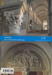 Vézelay - 4ème de couverture - Format classique