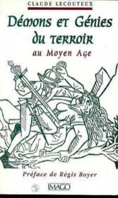 Demons et genies du terroir au moyen age - Couverture - Format classique