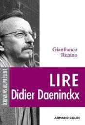 Lire Didier Daeninckx - Couverture - Format classique