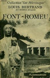 Font-Romeu. - Couverture - Format classique