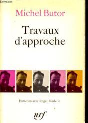 Travaux D Approche - Couverture - Format classique