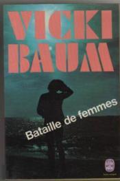 Bataille de femmes - Couverture - Format classique