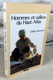 Hommes et vallées du Haut-Atlas. - Couverture - Format classique