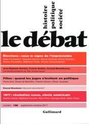 Revue Le Débat N.196 - Couverture - Format classique