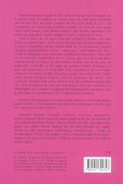 Lamelles orphiques (les) - 4ème de couverture - Format classique