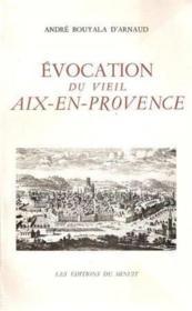 Evocation du Vieil Aix-en-Provence - Couverture - Format classique