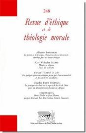 Revue d'éthique et de théologie morale N.248 - Couverture - Format classique