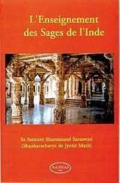 L'enseignement des sages de l'Inde - Couverture - Format classique