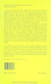 Histoire de favorites, contenant ce qui s'est passe de plus remarquable sous plusieurs regnes 1697 - 4ème de couverture - Format classique