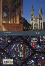 Chartres - 4ème de couverture - Format classique