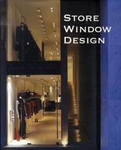 Store window design ; agencement de vitrine - Intérieur - Format classique