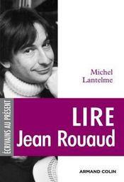 Lire Jean Rouaud - Couverture - Format classique