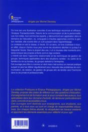 Pratique De L Analyse Transactionnelle Dans La Classe Avec Des Jeunes Et Dans Les Groupes Pierre Nicole