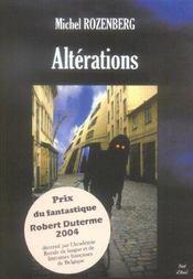 Alterations - Intérieur - Format classique