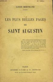 Les Plus Belles Pages De Saint Augustin. - Couverture - Format classique