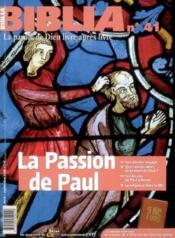 La Passion De Paul Bib41 - Couverture - Format classique