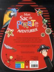Mon sac de pirate aventurier - 4ème de couverture - Format classique