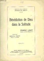 Benediction De Dieu Dans La Solitude - Couverture - Format classique