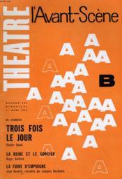 L'Avant-Scene - Theatre N° 260 - Trois Fois Le Jour De Claude Spaak - Couverture - Format classique
