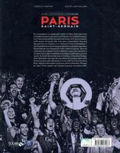 PSG ; saison 2014-2015 ; coffret - 4ème de couverture - Format classique