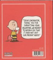 The Peanuts Guide To Love - 4ème de couverture - Format classique