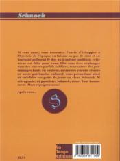 REVUE SCHNOCK N.29 ; Jean Gabin - 4ème de couverture - Format classique
