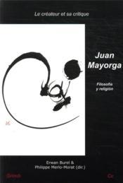 Juan Mayorga: filosofia y religión - Couverture - Format classique