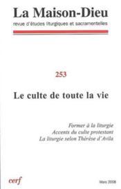 Revue La Maison-Dieu N.253 - Couverture - Format classique