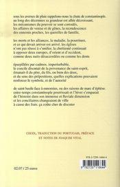 Une lettre en hiver et autres poèmes, 1963-2005 - 4ème de couverture - Format classique