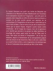 De L'Imagination De La Recherche De La Verite Livre Ii Parties Ii Et Iii Malebranche - 4ème de couverture - Format classique