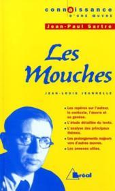 Les mouches, de Jean-Paul Sartre - Couverture - Format classique