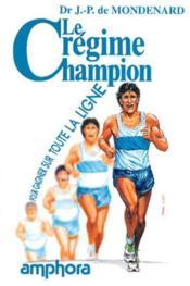 Le Regime Champion - Couverture - Format classique