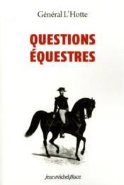 Questions équestres - Couverture - Format classique
