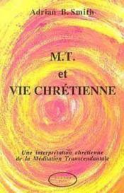 M.T. Et Vie Chretienne - Couverture - Format classique