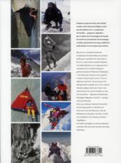 Les années montagne ; une histoire de l'alpinisme au XXe siècle - 4ème de couverture - Format classique