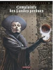 Complainte des landes perdues - cycle 2 ; les chevaliers du pardon T.3 ; la fée Sanctus - Couverture - Format classique