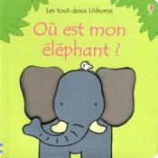 Où est mon éléphant ? - Couverture - Format classique