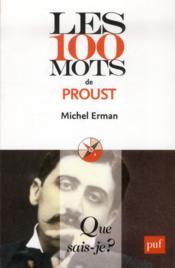 Les 100 mots de Proust - Couverture - Format classique