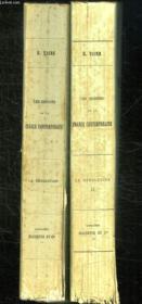 2 Tomes. Les Origines De La France. La Revolution. - Couverture - Format classique