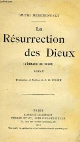 La Resurrection Des Dieux (Leonard De Vinci) - Couverture - Format classique