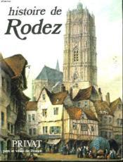 Histoire De Rodez - Couverture - Format classique