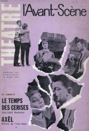 L'Avant-Scene - Theatre N° 261 - Le Temps Des Cerises De Jean-Louis Roncoroni - Couverture - Format classique