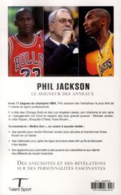 Un coach, onze titres NBA ; les secrets du succès - 4ème de couverture - Format classique