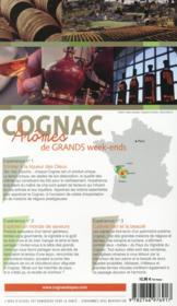 GUIDE PETIT FUTE ; THEMATIQUES ; guide de l'amateur du Cognac (édition 2015) - 4ème de couverture - Format classique