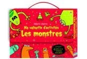 Ma valisette d'activités ; les monstres - Couverture - Format classique