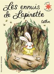 Les ennuis de Lapinette - Couverture - Format classique