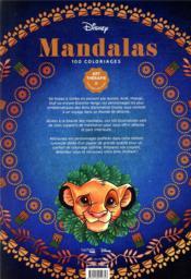 Art-thérapie ; mandalas ; 100 coloriages - 4ème de couverture - Format classique