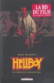 Hellboy t.1 ; les germes de la destruction - Intérieur - Format classique